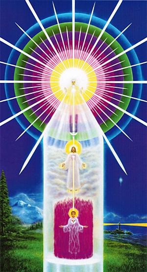 Схема Я ЕСМЬ Присутствия - наша Божественность